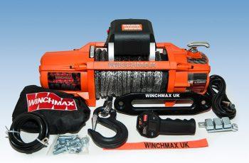 Εργάτης Winchmax SL 13500lb με ασύρματο χειριστήριο & συνθετικό σχοινί DYNEEMA