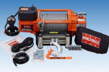 Εργάτης Winchmax SL 17500lb με ασύρματο χειριστήριο