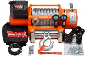 Εργάτης Winchmax 17000lb με ασύρματο χειριστήριο 24V