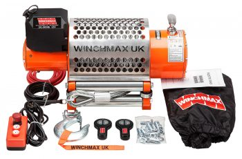 Εργάτης Winchmax 20000lb με ασύρματο χειριστήριο